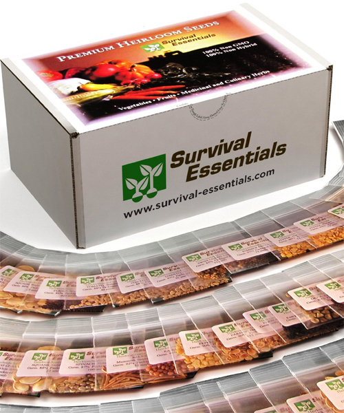 Survival Essentials Seed Bank